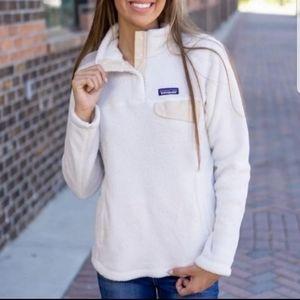 😍Patagonia retool snap T fleece pullover sz S&M